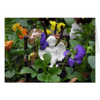 Garden Angel Notecards Card