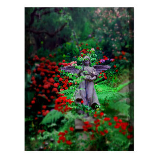 Garden Angel Postcard