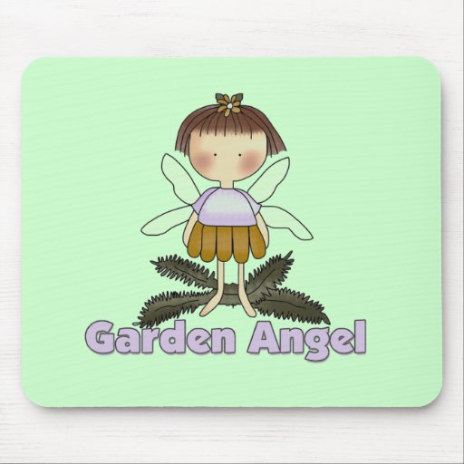 Garden Angel Tshirts and Gifts Mouse Pads