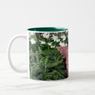 Garden Angel Two-Tone Coffee Mug