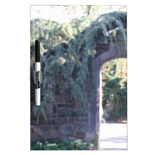 Garden archway Dry-Erase whiteboard