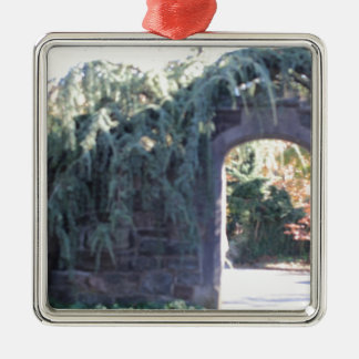 Garden archway christmas tree ornament