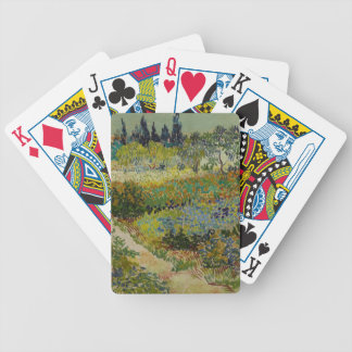 Garden at Arles, 1888 Bicycle Playing Cards