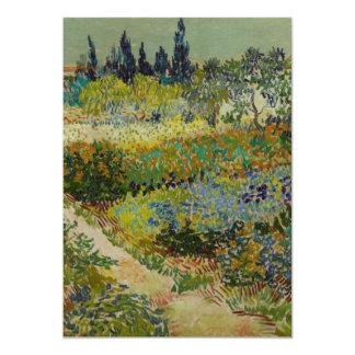 Garden at Arles, 1888 Card