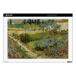Garden at Arles, 1888 Laptop Skins
