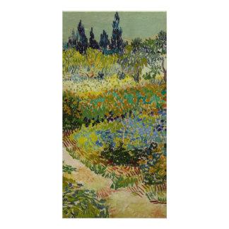 Garden at Arles by Vincent Van Gogh Card