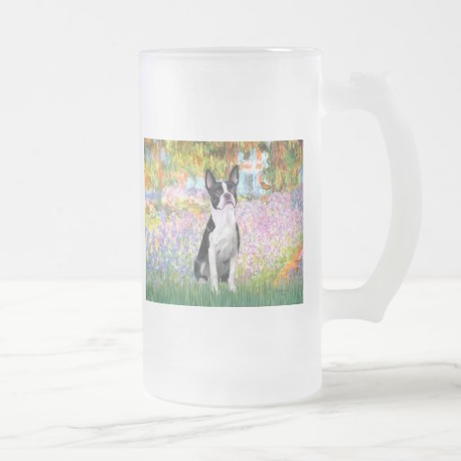 Garden at Giverney - Boston T Coffee Mug