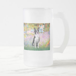 Garden at Giverney - Boston T Frosted Glass Beer Mug