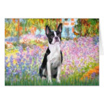 Garden at Giverney - Boston T Greeting Cards