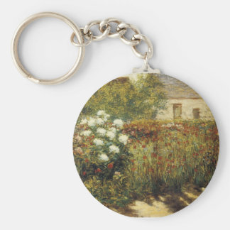 Garden at Giverny Keychain