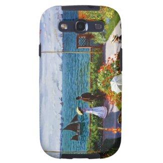 Garden at Sainte-Adresse, 1867 Claude Monet Galaxy SIII Case