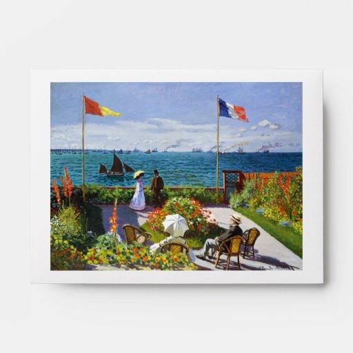 Garden at Sainte-Adresse, 1867 Claude Monet Envelopes