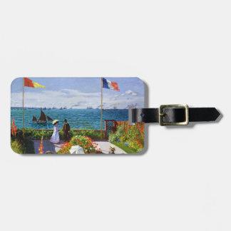 Garden at Sainte-Adresse 1867 Claude Monet Bag Tag