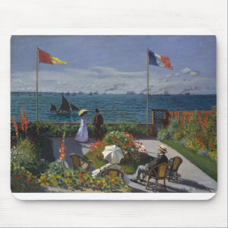 Garden at Sainte-Adresse (1867) Mouse Pad