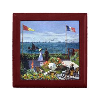 Garden at Sainte-Adresse by Claude Monet Gift Box