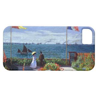 Garden at Sainte-Adresse by Claude Monet iPhone SE/5/5s Case