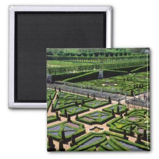 Garden at Villandry Chateau, Indre-et-Loire, Magnet