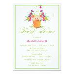 "Garden Baby Shower Invitation 5"" X 7"" Invitation Card"