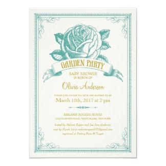 Garden Baby Shower invitations