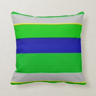 Beach Themed Garden, Beach Throw Pillow