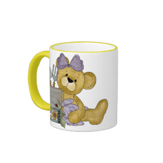 Garden Bears Coffee Mugs