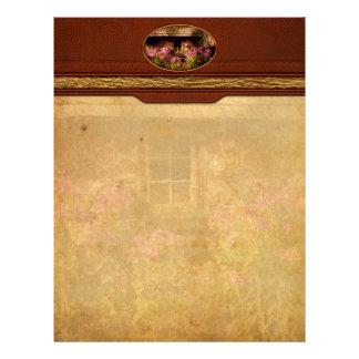 Garden - Belvidere, NJ - My little cottage Letterhead Template
