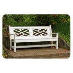 Garden bench flexi magnet