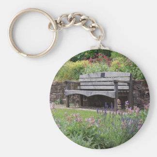 Garden Bench Keychain