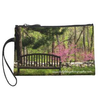Garden Bench Wristlet
