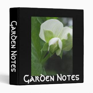 Garden Binder for Gardener's Notes or Daily Diary
