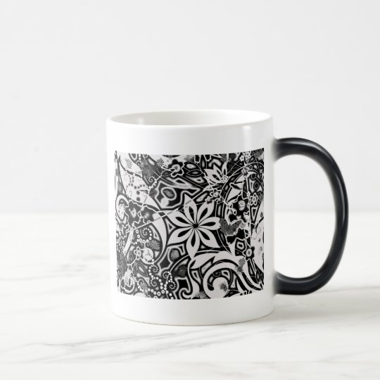 Garden: Black and White Magic Mug