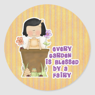 Garden Blessed by Fairy Stickers