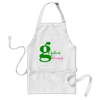 garden bloomers adult apron