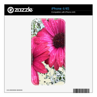 Garden Blooms - Pink Skin For iPhone 4S
