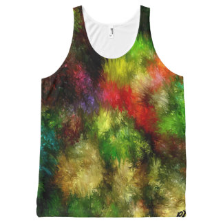 Garden Blossom by rafi talby All-Over Print Tank Top