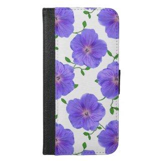 Garden Blue Geranium Flowers on any Color