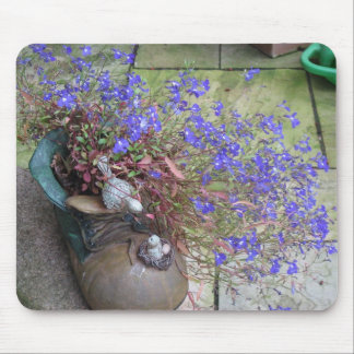 Garden Boot Mouse Pad