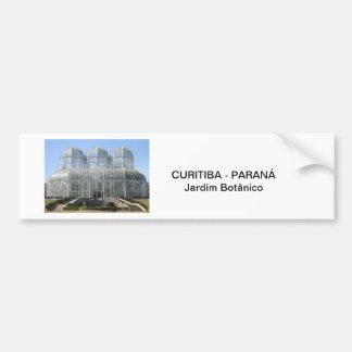 Garden Botanist - Curitiba - Paran3a Car Bumper Sticker