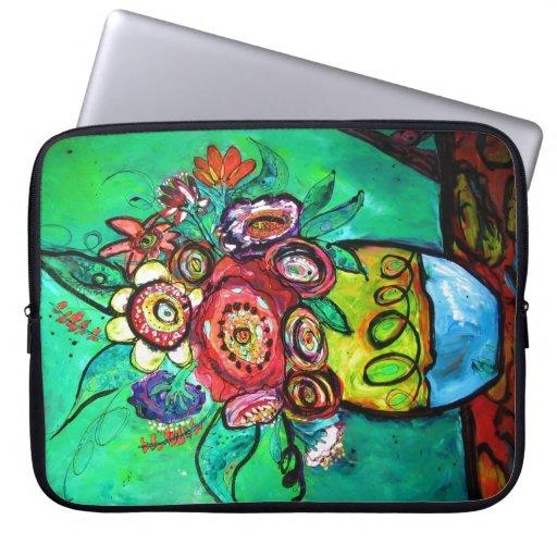 Garden Bouquet Laptop Sleeves