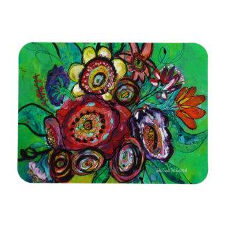 Garden Bouquet Rectangular Photo Magnet