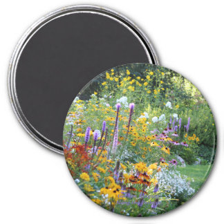 Garden Bouquets Along the Pathway! Magnet