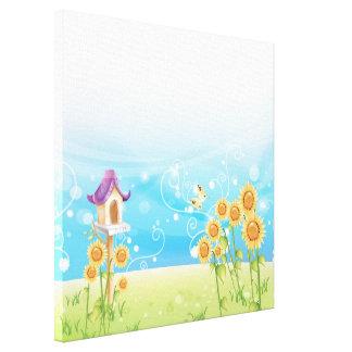 Garden Breeze Gallery Wrap Canvas