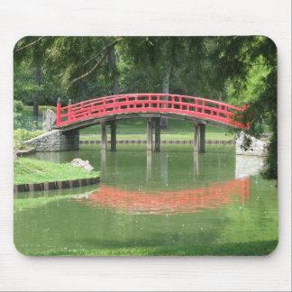 Garden Bridge Mouse Pad