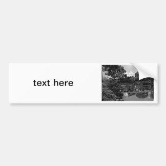 Garden Car Bumper Sticker
