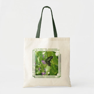 Garden Butterfly Budget Tote Bag