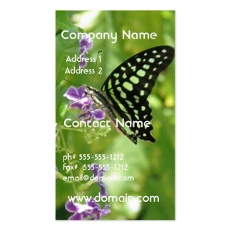 Garden Butterfly Business Cards