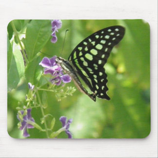 Garden Butterfly Mouse Pad