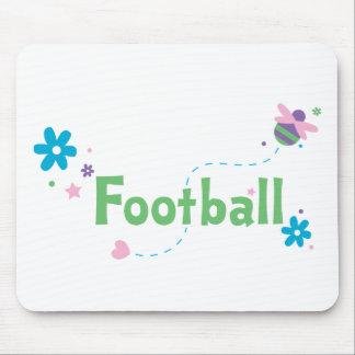 Garden Buzz Football Mouse Pad