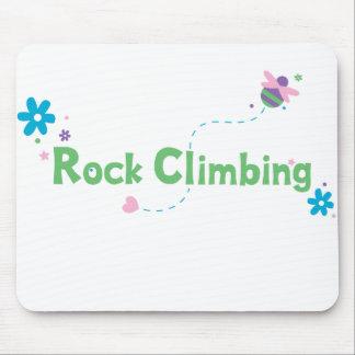 Garden Buzz Rock Climbing Mouse Pad