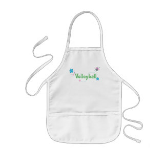 Garden Buzz Volleyball Kids' Apron